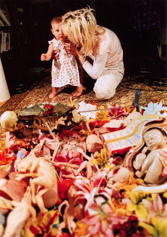 Kurt Cobain Quotes Wallpaper Is Courtney Love A Pedophile Her Disturbing Artwork