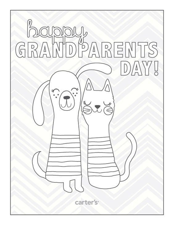 Happy Grandparents Day. Download #FREE printables for your