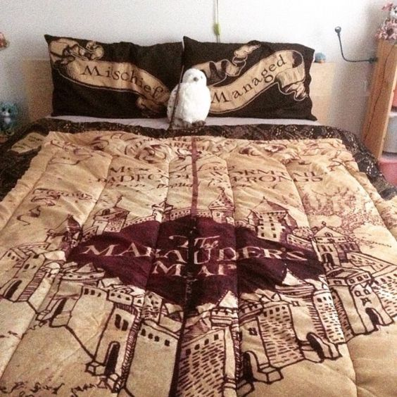 Marauders Map Bedspread  I Need This So Badly!  Harry