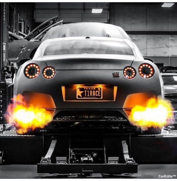 Car Spitting Flames Wallpaper Nissan Skyline Gtr Luxury Cars Pinterest Nissan