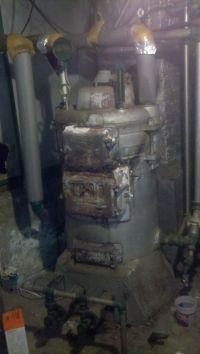 Antique coal Boiler | ... Monster in the Basement ...