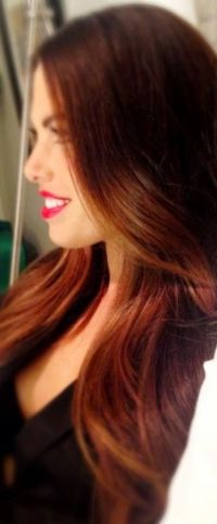 25 Best Red Hair Color Long Hairstyles 2016 2017 Of Soft ...