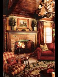 Best ideas about Country Rustic Living Rooms, Country Home ...