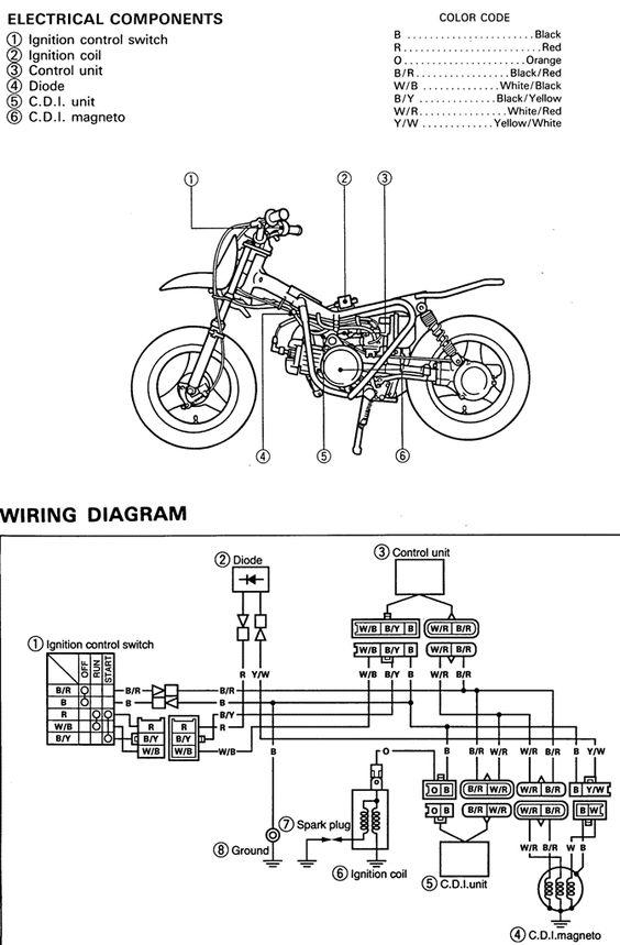 lig dirt bike wiring diagram