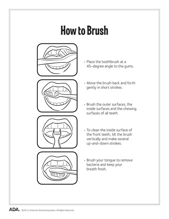 11 Dental Health Activity Sheets (Oral Health Made Easy