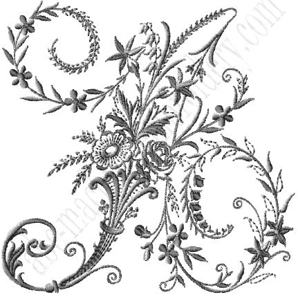 Embroidery, Search and Embroidery letters on Pinterest
