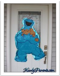 Cookie Monster Birthday Party Decorations