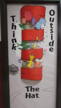 door design for Read Across America Week. Happy Birthday ...