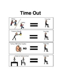 FREE Time Out Chart - Sign | Teaching Ideas-- Random ...
