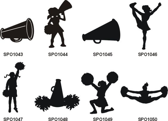 Cheerleading, Clip art and Cheer on Pinterest