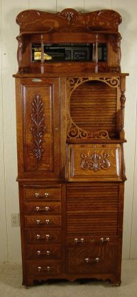 beautiful restored dental cabinet