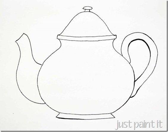 Paint, Tea pots and Blog on Pinterest