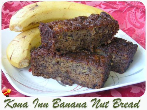 kona inn banana bread w macnuts recipe
