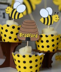 Bumble BEE Baby Shower, Bumble Bee First Birthday ...