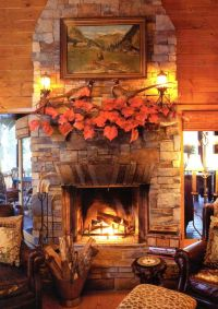 Cozy fall fireplace | Home Inspiration | Pinterest ...