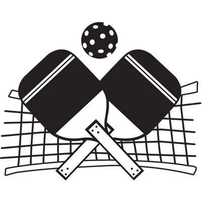 Sport Clip Art Pickleball
