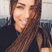 Thin braids   BRAIDS, LOCS, TWISTS AND OTHER STYLES ...