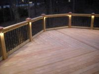 Pattern ideas. This deck features a low voltage lighting