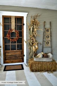 Fall Front Door Decor Ideas  Home Decor Ideas