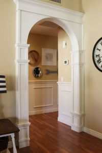 "DIY arch moulding tutorial. | ""DIY Home Decor Ideas ..."