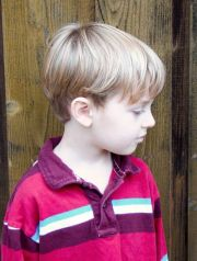 little boy haircuts short