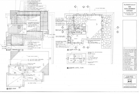 Seth peterson, Cottages and Site plans on Pinterest