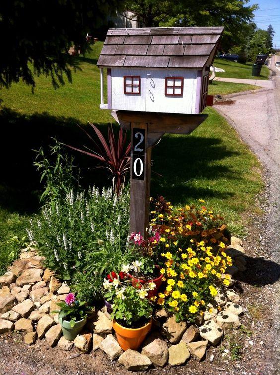 beautiful mailbox landscaping ideas