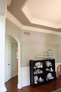 crown molding inside tray ceiling   Bedrooms   Pinterest ...