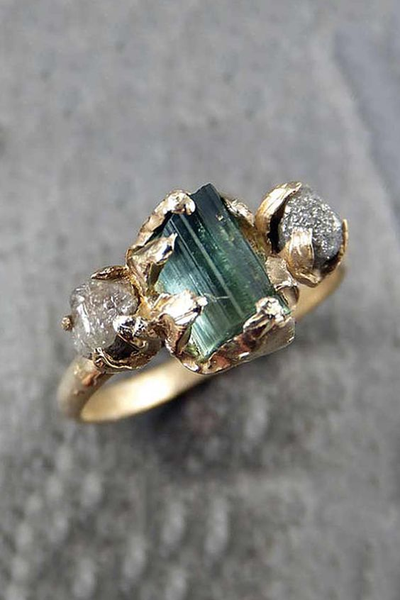 7 Non Traditional Engagement Ring Stones That Are Trending