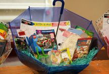 Easter basket ideas (mostly candy free):
