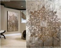 Elegant and Captivating Wall Stencils and Home Decor ...