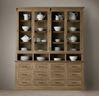 Apothecary Display Cabinet   Wood Shelving & Cabinets ...