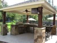 Covered Outdoor Kitchen Designs | www.imgkid.com - The ...