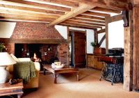 16th-century timber-framed house   Period Living    Cosy ...