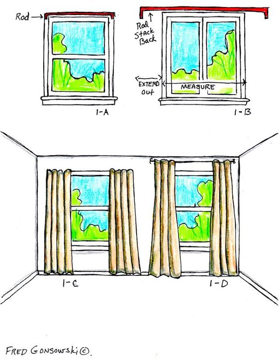 How To Properly Hang Curtains This Is The One I Have Been