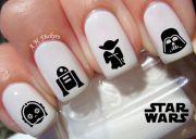 star wars nail decals mom