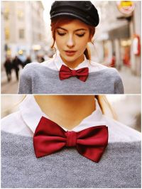 Bow ties are for girls too! How cute! | Explosion of ...