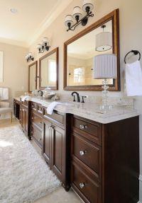 Bathroom Mirrors Atlanta : Excellent Brown Bathroom ...