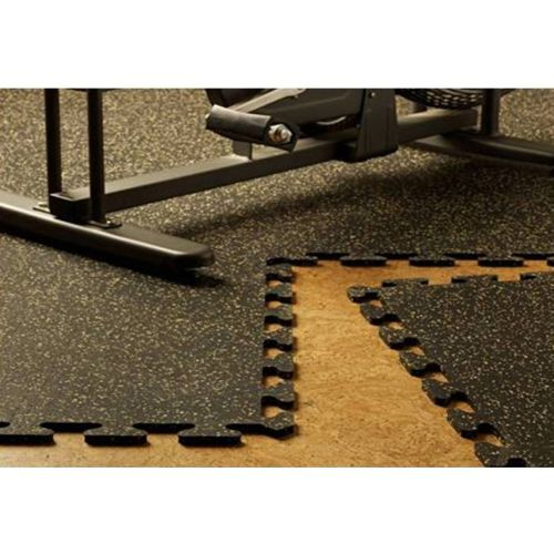 From Costco EZFlex Interlocking Recycled Rubber Floor