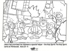 Pentecost, Coloring and Coloring pages on Pinterest