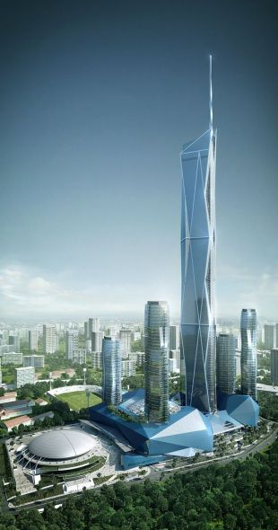 Supertall Skyscrapers In Kuala Lumpur The Tower Info