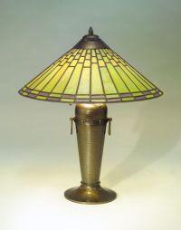 Roycroft Copper Lamp: ca. 1920-1928 (Dard Hunter design ...