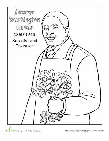 George washington carver, George washington and Washington