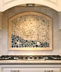 Coastal Kitchen Backsplash Ideas with Tiles | From Beach ...