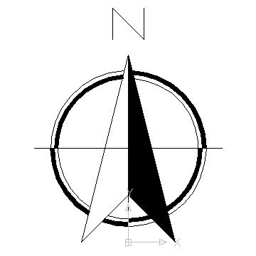 True north, AutoCAD and Arrows on Pinterest