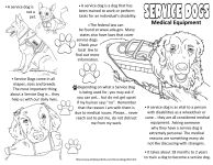 Dogs, Service dogs and Brochures on Pinterest