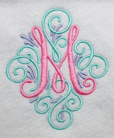 Adorn Scroll Fonts Alpha Pinterest Monograms and