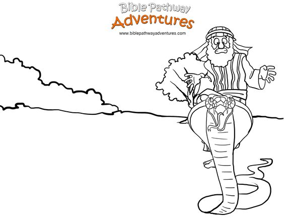 Coloring pages for kids, A snake and Coloring pages on