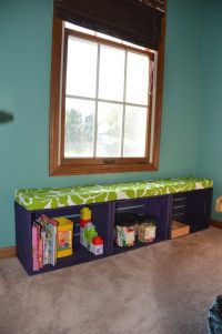 Crate bench, Crates and Bench with storage on Pinterest