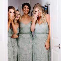 Sage Bridesmaids Dresses | Wedding Inspiration | Pinterest ...